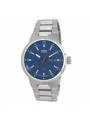Oris Williams Day Date Stainless Steel Automatic Men's Watch 0173577164155