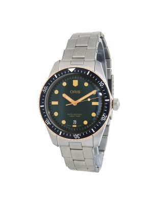 Oris Divers Stainless Steel Automatic Black Men's Watch 01 733 7707 4357