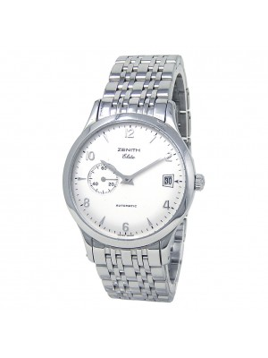 Zenith Class Elite Stainless Steel Automatic Men's Watch 02.1125.680/01