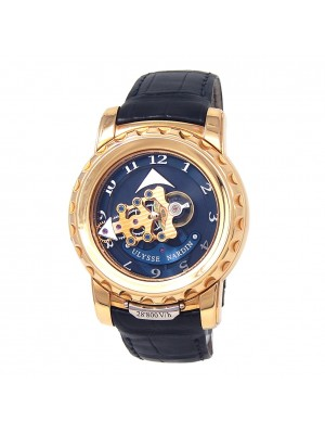 Ulysse Nardin Freak 18k Rose Gold Manual Men's Watch 026-88