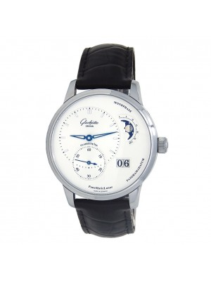 Glashutte Original Pano Matic Lunar Stainless Steel Automatic 1-90-02-42-32-05