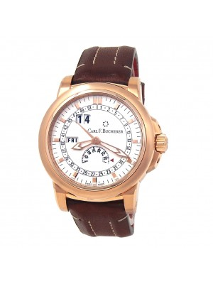 Carl F. Bucherer Patravi 18k Rose Gold Manual Men's Watch 10629.03.13.02