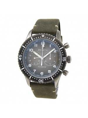 Zenith Pilot CronometroTipo CP-2 Flyback Stainless Steel 11.2240.405/21.C773