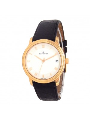 Blancpain Villeret Ultra Slim 18k Rose Gold Men's Watch Automatic 1158-3642-55