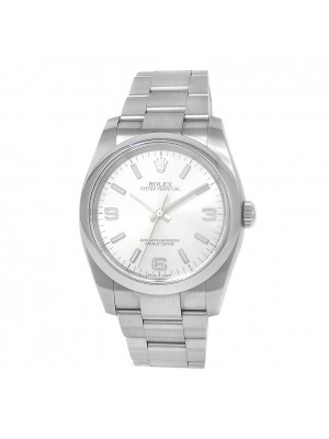 Rolex Oyster Perpetual Stainless Steel Automatic Silver Men's Watch 116000
