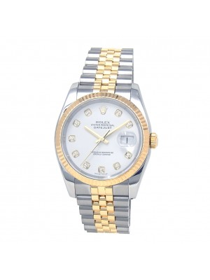 Rolex Datejust Stainless Steel & 18k Yellow Gold Automatic Men's Watch 116233