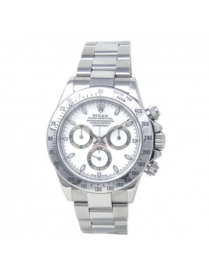 Rolex Daytona (Y Serial) Stainless Steel Automatic Men's Watch 116520