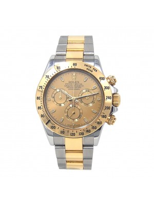 Rolex Daytona 18k Yellow Gold & Stainless Steel Automatic Men's Watch 116523