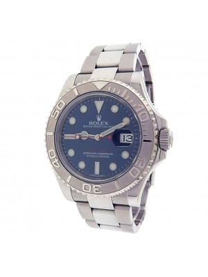 Rolex Yacht-Master 116622 Stainless Steel Oyster Automatic Blue Men's Watch