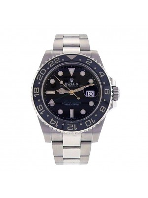 Rolex Men GMT Master II 116710 Swiss Made Stainless Steel Automatic Sport Watch
