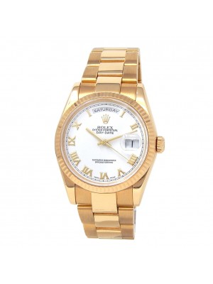 Rolex Day-Date (P Serial) 18k Yellow Gold Automatic Men's Watch 118238