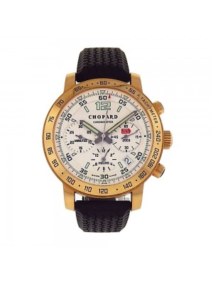 Chopard Mille Miglia 18k Yellow Gold Automatic Chronograph Men's Watch 1257
