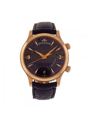 Jaeger-LeCoultre Master Memovox 18k Rose Gold Automatic Men's Watch 144.2.94.S