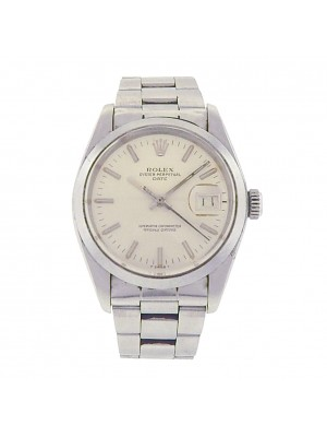 Rolex Date 1500 Stainless Steel Oyster Automatic Silver Men's Watch