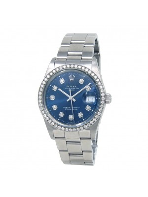 Rolex Date (L Serial) Stainless Steel Automatic Mens Watch 15010