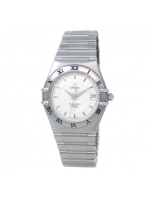 Omega Constellation Perpetual Calendar Stainless Steel Watch Quartz 1552.30.00