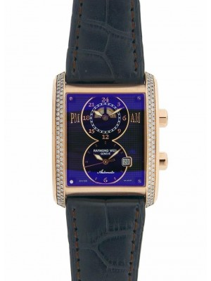 Raymond Weil Don Giovanni Cosi Grande 12898-GS-20001 Diamond Bezel Gold Watch