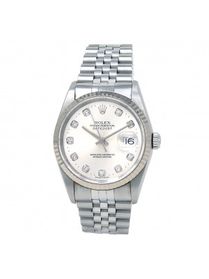 Rolex Datejust (K Serial) Stainless Steel Automatic Men's Watch 16234