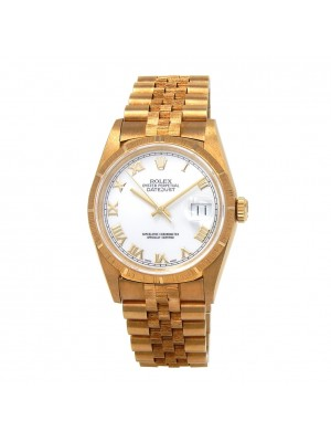 Rolex Datejust (S Serial) 18k Yellow Gold Automatic Men's Watch 16248