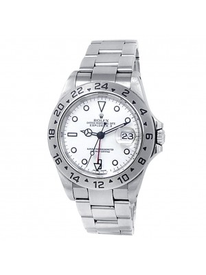 Rolex Explorer II Stainless Steel Oyster Automatic White Men's Watch 16570
