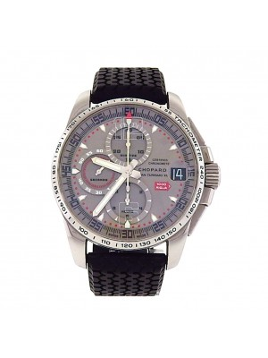 Men Stainless Steel Chopard Mille Miglia GT XL Automatic Chronograph Sport Watch