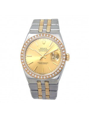 Rolex Datejust (6 Serial) Stainless Steel 18k Yellow Gold Automatic Watch 17013