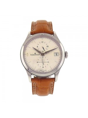 Jaeger LeCoultre Master Control Hometime Stainless Steel Automatic Watch 174805S