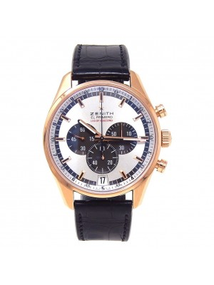 Zenith El Primero Striking 10th 18k Rose Gold Automatic Men's Watch 18.2040.4052