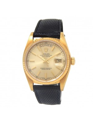 Rolex Day-Date (6 Serial) 18k Yellow Gold Men's Watch Automatic 18038