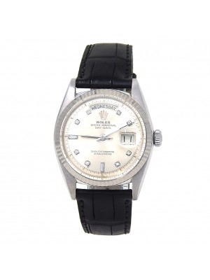 Rolex Day Date (3 Serial) 18k White Gold Automatic Men's Watch 1804