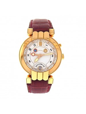 Harry Winston 18k Yellow Gold Greenwich 200-MATR35-GL-B Automatic Dress Watch