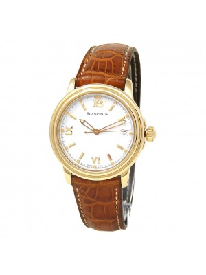 Blancpain Leman Ultra-Slim 18k Yellow Gold Automatic Men's Watch 2100-1418-53
