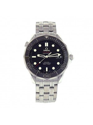 Omega Seamaster 212.30.41.20.01.003 Stainless Steel Automatic Black Men's Watch