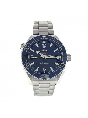 Omega Seamaster Planet Ocean 215.30.44.21.03.001 Stainless Steel Automatic Blue Men's Watch