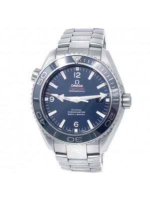 Omega Seamaster Planet Ocean Stainless Steel Blue Mens Watch 232.90.46.21.03.001