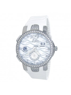 Ulysse Nardin Executive Dual Time S.S Automatic Men's Watch 243-10B-3C/691