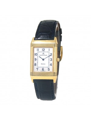 Jaeger-LeCoultre Reverso 18k Yellow Gold Women's Watch Manual 250.1.86