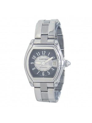 Cartier Roadster Stainless Steel Automatic Ladies Watch W62001V3