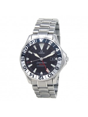 Omega Seamaster GMT 50 Years Stainless Steel Automatic Men's Watch 2534.50.00