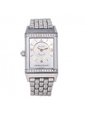 Jaeger LeCoultre Reverso Duetto Classique Stainless Steel Mechanical 256.8.75