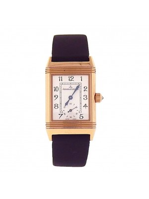 Jaeger LeCoultre Reverso 18K Rose Gold Hand Winding Ladies Watch 256275