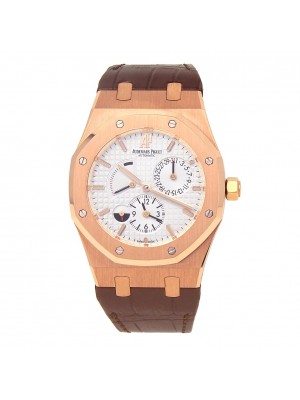 Audemars Piguet Royal Oak Dual Time 18k Rose Gold Automatic 26120OROOD088CR01