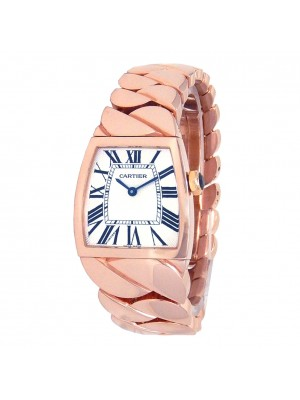 Cartier La Dona de Cartier 18k Rose Gold Quartz Ladies Watch 2896