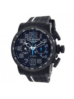 Graham Silverstone Stowe Black PVD Stainless Steel Automatic 2BLDC.U26A.K68N