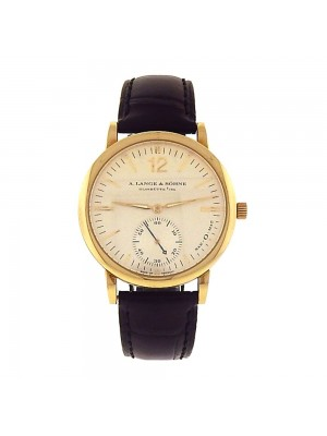 A.Lange & Sohne Langmatik Sax-O-Mat 18K Yellow Gold Automatic Mens Watch 301.021