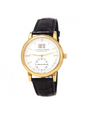 A.Lange & Sohne Langematik Big Date 18k Yellow Gold Automatic Mens Watch 308.021