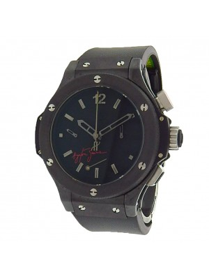 Hublot Big Bang Ayrton Senna 309.CM.134.RX.AES07 Ceramic Titanium Auto Watch