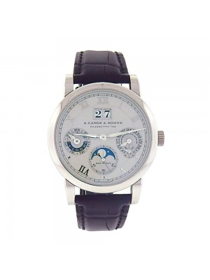 A.Lange & Sohne Langematik Perpetual Platinum Automatic Moonphase Watch 310.025