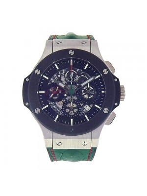 Hublot Big Bang Scuderia Rodriguez Platinum & Titanium Watch 311.TQ.1129HR.MEX11