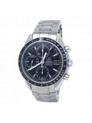 Omega Speedmaster Date Stainless Steel Automatic Chrono Men's Watch 3210.50.00